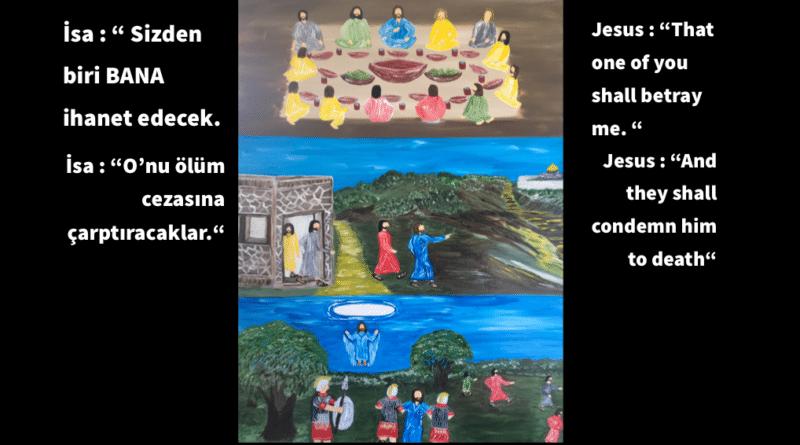 İSA, İNCİL VE KURAN DEDİ Kİ: /// The Prophet Jesus, the Bible and the Quran Said: